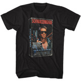 Terminator VHS 3D Black T-Shirt