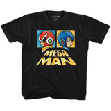 Mega Man Boxy Black Youth T-Shirt