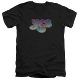 Yes Logo S/S Adult V Neck 30/1 T-Shirt