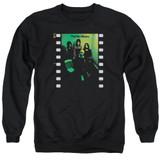 Yes Album Adult Crewneck Sweatshirt Black