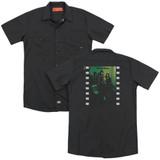 Yes Album (Back Print) Adult Work Shirt Black