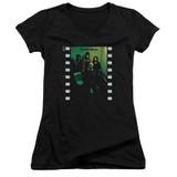 Yes Album Junior Women's T-Shirt V Neck