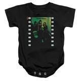 Yes Album Infant Baby Snapsuit Romper Black