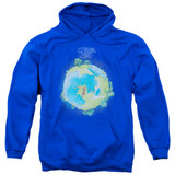 Yes Fragile Cover Adult Pullover Hoodie Sweatshirt Royal Blue