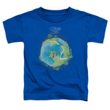 Yes Fragile Cover S/S Toddler T-Shirt Royal Blue
