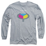 Yes 90125 Long Sleeve Adult 18/1 T-Shirt Athletic Heather