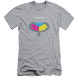 Yes 90125 S/S Adult 30/1 T-Shirt Athletic Heather
