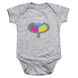 Yes 90125 Infant Baby Snapsuit Romper Athletic Heather