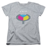 Yes 90125 S/S Women's T-Shirt Athletic Heather