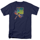 Yes Dragonfly S/S Adult 18/1 T-Shirt Navy