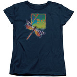 Yes Dragonfly S/S Women's T-Shirt Navy