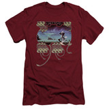 Yes Yessongs S/S Adult 30/1 T-Shirt Cardinal