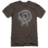 Deep Purple DP Logo HBO Adult 30/1 T-Shirt Charcoal