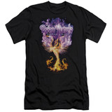 Deep Purple Phoenix Rising HBO Adult 30/1 T-Shirt Black