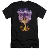 Deep Purple Phoenix Rising Adult 30/1 T-Shirt Black