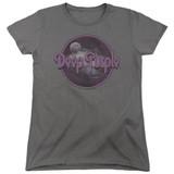 Deep Purple Smoke On The Water Women's T-Shirt Charcoal