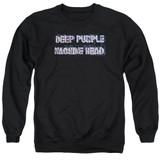 Deep Purple Machine Head Adult Crewneck Sweatshirt Black