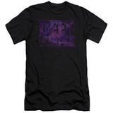 Deep Purple Spacey Adult 30/1 T-Shirt Black