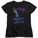 Deep Purple Smokey Water Women's T-Shirt Black