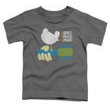 Woodstock Perched S/S Toddler T-Shirt Charcoal