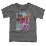 Woodstock Plm S/S Toddler T-Shirt Charcoal