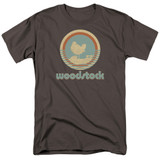Woodstock Bird Circle S/S Adult 18/1 T-Shirt Charcoal
