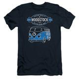 Woodstock Van S/S Adult 30/1 T-Shirt Navy