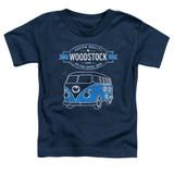Woodstock Van S/S Toddler T-Shirt Navy