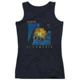 Def Leppard Pyromania Junior Women's Tank Top T-Shirt Black