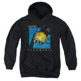 Def Leppard Pyromania Youth Pullover Hoodie Sweatshirt Black