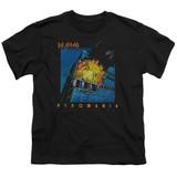 Def Leppard Pyromania Youth T-Shirt Black