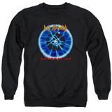 Def Leppard Adrenalize Adult Crewneck Sweatshirt Black