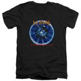 Def Leppard Adrenalize Adult V-Neck T-Shirt Black