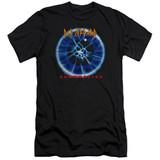 Def Leppard Adrenalize HBO Adult 30/1 T-Shirt Black