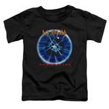 Def Leppard Adrenalize Toddler T-Shirt Black