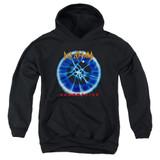 Def Leppard Adrenalize Youth Pullover Hoodie Sweatshirt Black
