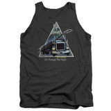 Def Leppard On Through The Night Adult Tank Top T-Shirt Charcoal