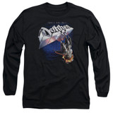 Dokken Tooth And Nail Adult Long Sleeve T-Shirt Black