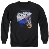 Dokken Tooth And Nail Adult Crewneck Sweatshirt Black