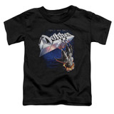 Dokken Tooth And Nail Toddler T-Shirt Black