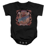 Dokken Back Attack Baby Onesie T-Shirt Black