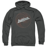 Dokken Breaking The Chains Adult Pullover Hoodie Charcoal