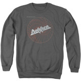 Dokken Breaking The Chains Adult Crewneck Sweatshirt Charcoal