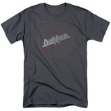Dokken Breaking The Chains Adult 18/1 T-Shirt Charcoal
