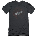 Dokken Breaking The Chains Adult 30/1 T-Shirt Charcoal