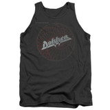 Dokken Breaking The Chains Adult Tank Top T-Shirt Charcoal