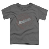 Dokken Breaking The Chains Toddler T-Shirt Charcoal