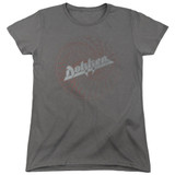 Dokken Breaking The Chains Women's T-Shirt Charcoal