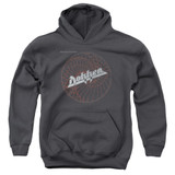Dokken Breaking The Chains Youth Pullover Hoodie Sweatshirt Charcoal