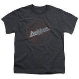 Dokken Breaking The Chains Youth T-Shirt Charcoal